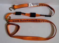 14' replacement swivel J wheel strap OXEN STRAP