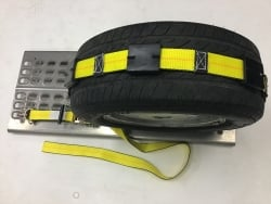10 ft Ratchet Wheel Strap with Swivel J hooks