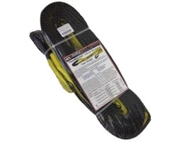 "3"" x 30' Yellow Triple Ply Tow & Recovery Strap"