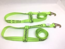 2 Pack of Wheel Straps to fit Jerr-Dan MPL/Element Basket and USPS Priority Shipping Included! (color options)