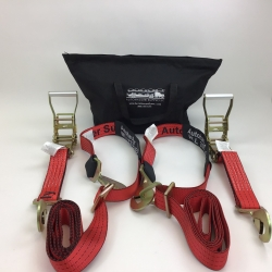 Double Axle Strap and Ratchet Combo with Bag-- Includes USPS Priority Shipping