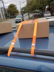 SOOBY SUV Universal Luggage Rack Tie-Down System - USPS Priority Shipping Included!