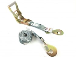 2' X 10' Ratchet strap Assembly with Twisted Snap Hook, Camo