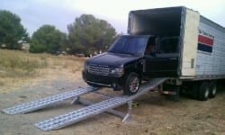 20 Foot Modular Car Loading (5 piece) Ramp System for Dry Van Trailers