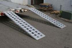 "Single 8ft Low Profile Loading Ramp (96"" x18"" x2.25"") - Shipping Included"