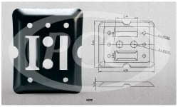 F Track Mounting Plate