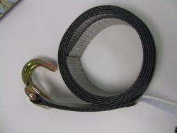 8 Foot Wheel Lift Strap with Wire Hook
