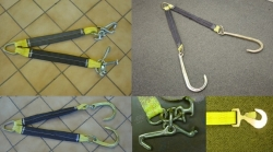 Nylon V- Bridles. Choice of Hook Style and Length options!