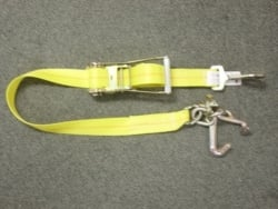 Cluster Hook 9ft Strap w Snap Hook Ratchet Handle