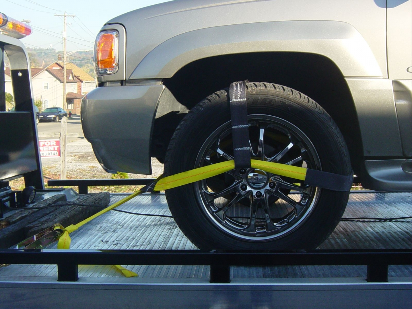 Rollback Truck Soft Tie With Ratchet Handle Options