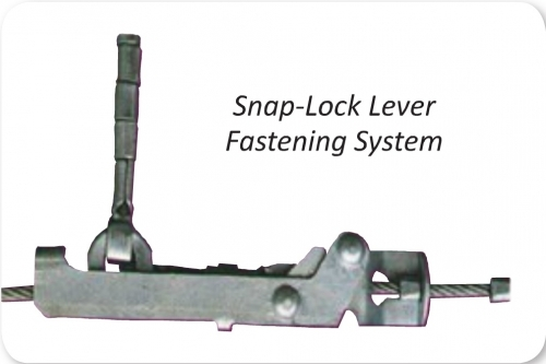 Lever Locking System : Laclede cable chains pair